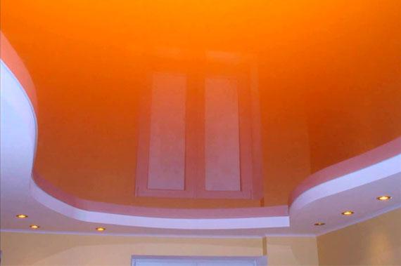 Натяжные потолки - фото 1
