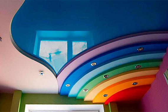 Натяжные потолки - фото 10
