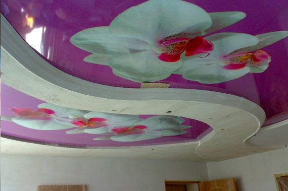 Натяжные потолки - фото 6